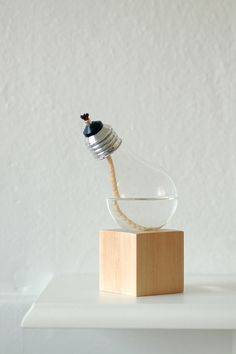 Alcohol Bulb Table Lamp