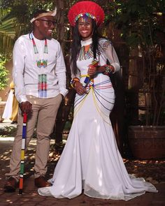 Ankara detailed wedding dresses are the new wedding dream dress now. Wedding dresses have taken a whole new dimension from the way it used to be Zulu Traditional Wedding Dresses, Zulu Traditional Attire, Off White Wedding Dresses, Designer Wedding Dresses, African Fabric, African Dress, Petite Bride, Short Bride, Latest Ankara Styles