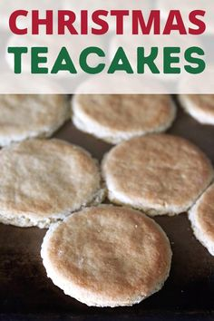 Christmas Tea, Christmas Desserts, Old Fashioned Tea Cakes, Dessert Recipes With Pictures, Delicious Deserts, Southern Recipes, Holiday Cookies, Southern Style, Food Inspiration