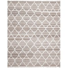 Safavieh Hand-woven Natural Kilim Light Grey/ Ivory Wool Rug (9' x 12') | Overstock.com Shopping - Great Deals on Safavieh 7x9 - 10x14 Rugs