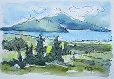 Sketchbook Wandering : Maine, But Not the Coast