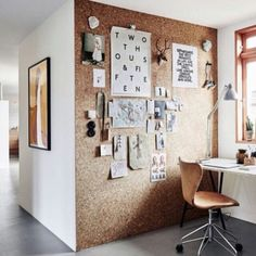 Office Decor: The coolest decor wall to make your surroundings personal and fun in your work space.