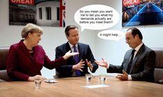 David Cameron struggles to master the art of negotiation. #EUNegotiations #Brexit