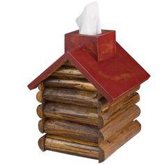 Cabin Tissue Box