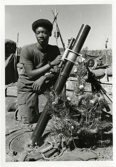 vietnam, christmas 1970. I wasn't even aware of this until I was much older, but then I was only 6 and to me it was all about Santa and Jesus. I didn't know a war was going on.