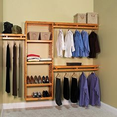 John Louis Home Simplicity 12 in. D Closet System John Louis