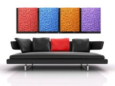 Modern Large 64x20 abstract painting one of a by HesterPaintings, $159.00