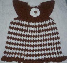 Crochet Baby Dress crochet baby dress pattern for one year old/crochet frock pa...