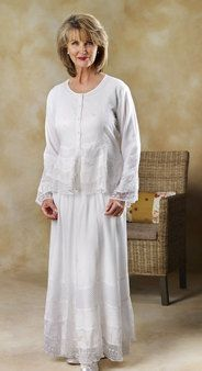 'lace and embroidery' set @ white elegance $89