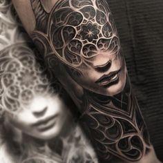 Tattoo Trends - Likes, 49 Comments - Mumia . - Best Tattoo Trends – Likes, 49 Comments – Mumia … - Arm Tattoo, Body Art Tattoos, New Tattoos, Unique Tattoos, Sleeve Tattoos, Tattoos For Guys, Cool Tattoos, Gotik Tattoo, Mangas Tattoo