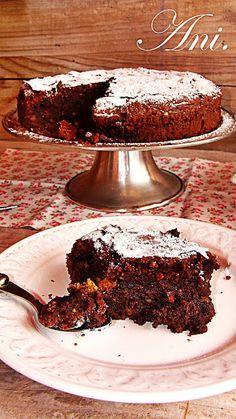 La Cocina de Ani: Tarta de chocolate con almendras