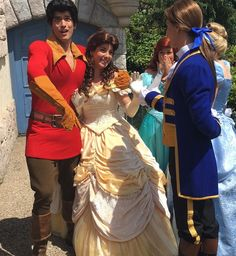 Gaston stole Belle from Adam