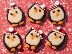 Get Penguin Slice-and-Bake Cookies Recipe from Food Network