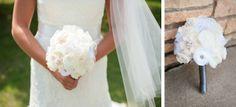 Wedding Floral Options – DIY Fabric Flower Bouquets