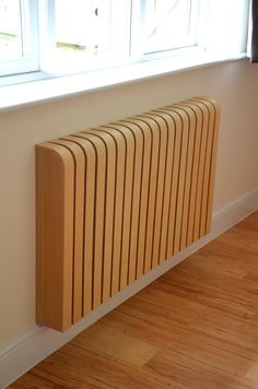 Wooden ash radiator cover: scandinavian by cool radiators? it's covered!, scandinavian wood wood effect Best Radiators, Home Radiators, Design Case, Cover Design, Modern Radiator Cover, Ideas Hogar, Wood Interiors, Trendy Bedroom, Modern Interior Design