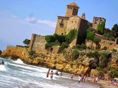 Castle of Tamarit,Tarragona, España
