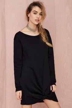Nasty Gal Comfortably Numb Sweatshirt - Day | Shift | LBD | Dresses | Basic |  | LBDs From $25 | Dresses |  | Dresses
