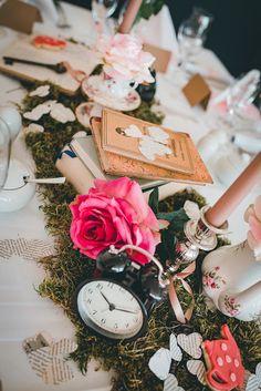 Alice in Wonderland Deko für die Hochzeit (Wedding)