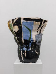 Roger Herman, Untitled, 2012, Glazed ceramic 23 x 23 x 8 (base) inches (58.4 x 58.4 x 20.3 cm), RgH0712