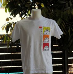 """I dont care ! id rather sink than call brad for help ! - FeeL FeeL FeeL NO. 2 - """"Art on shirts"""" Art printed on shirts by AdelaAndRebecca on Etsy"""