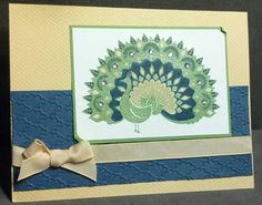 Pretty In Color Peacock by zipperc98 - Cards and Paper Crafts at Splitcoaststampers