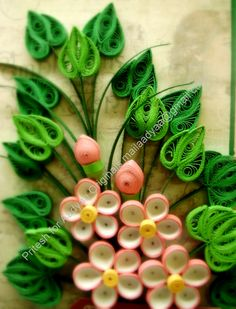 paper quilled thank you cards - Google Search
