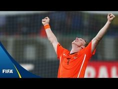 Netherlands - Brazil, 2010 FIFA World Cup South Africa™: Holland went behind after a confident Robinho goal, but Wesley Sneijder's brace led the Oranje back . World Cup Games, Netherlands, Dutch, Youtube, The Nederlands, The Netherlands, Dutch Language, Holland, Youtubers