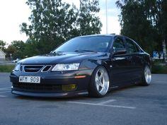 Saab 9-3 (just like mine) like to find those rims!