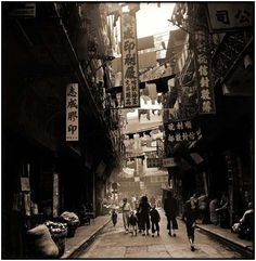 Here you have an opportunity to watch some photos of how Chinese cities looked like a few decades ago.