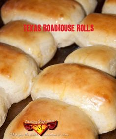 Copy-Cat Texas Roadhouse Rolls - gotta try these. She makes recipes that are really easy to follow