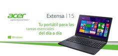 El Acer Extensa 15, con uno de los factores de forma más reducidos de su categoría http://olympiacanarias.com/nueva-gama-de-portatiles-acer-extensa/