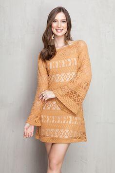 vestido renda ziggy | Dress to