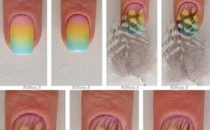 FL | DIY Feather Nails