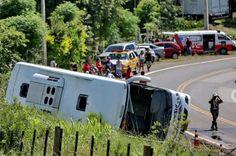 Morre a oitava vítima do acidente com ônibus em Glorinha