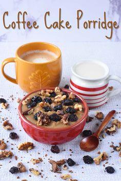 Coffee Cake Porridge