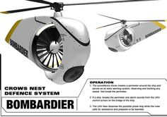 Future Transportation - Tiny Helicopter Defense System by Jacob Lalinsky Surveillance Drones, Uav Drone, Flying Vehicles, Future Transportation, Future Gadgets, Flying Drones, Drone Technology, Rc Helicopter, Cool Tech