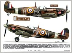 Ww2 Aircraft, Military Aircraft, The Spitfires, Supermarine Spitfire, Military Pictures, Ww2 Planes, Battle Of Britain, Royal Air Force, Aviation Art