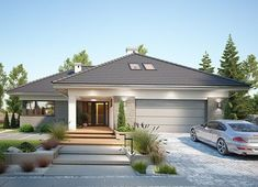 Home Building Design, Building A House, Village Houses, House Plans, Exterior, How To Plan, Architecture, Outdoor Decor, Modern