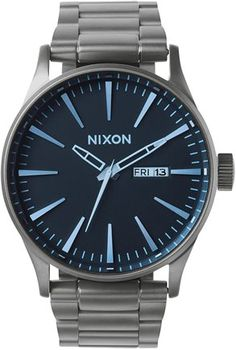 Nixon Sentry SS watch http://www.swell.com/Mens-Watches/NIXON-SENTRY-SS-WATCH-3?cs=GM
