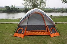 Elite Waterproof Double layer Outdoor 3 Person Camping Family Tent - Visit to see more options