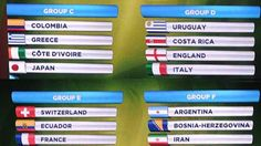 Italia con Uruguay e Inghilterra