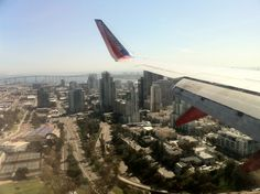 Final approach into San Diego Airport