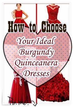 Burgundy Quinceanera dress - The greatest element of the quinceanera for a girl turning fifteen is the dress! The ideal quinceanera gown makes the birthday girl feel like royalty. Quince Dresses, 15 Dresses, Cute Dresses, Burgundy Quinceanera Dresses, Fantasy Party, Sweet Sixteen Dresses, Quinceanera Party, Girl Birthday, How To Memorize Things