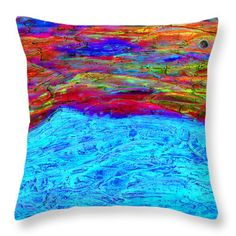 New Day Throw Pillow by Mary Gravelle