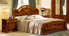 Stylish Design Furniture - Milady Italian King Bed with 2 Nightstands, $1,852.50 (http://www.stylishdesignfurniture.com/products/milady-italian-king-bed-with-2-nightstands.html)