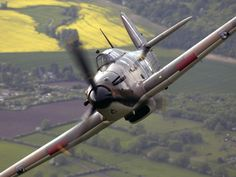 Business end of a wartime Hawker Hurricane