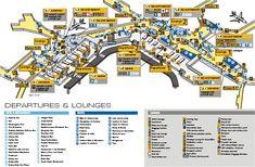 Amsterdam Airport Map