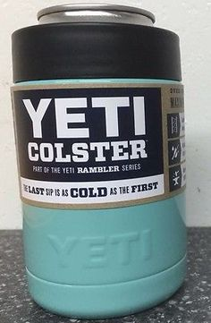 Tiffany Blue Yeti Colster !  Available in any color - email us at 904Powderworx dot com