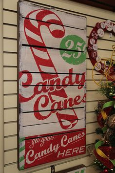 Rustic Christmas Sign