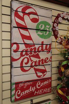 Rustic Christmas Signs #Christmas